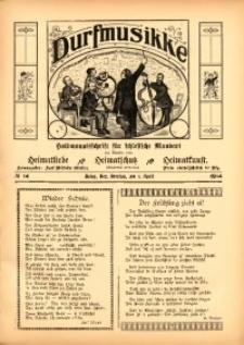 Durfmusikke, 1914, No. 14