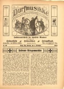 Durfmusikke, 1914, No. 29