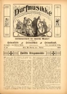 Durfmusikke, 1915, No. 34