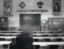 Kietrz. Sala lekcyjna w szkole przy ul. T. Kościuszki.
