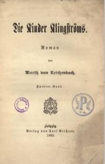 Die Kinder Klingströms. Roman. 2. Bd.