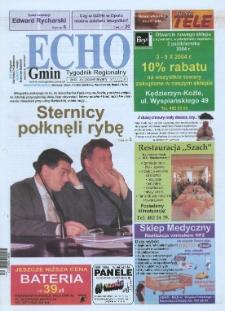 Echo Gmin : tygodnik regionalny 2004, nr 39 (367).