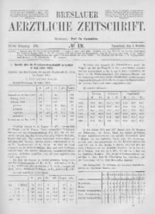Breslauer Aerztliche Zeitschrift, 1881, Jg. 3, No. 19