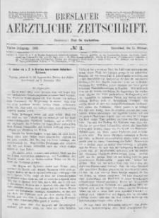 Breslauer Aerztliche Zeitschrift, 1882, Jg. 4, No. 3