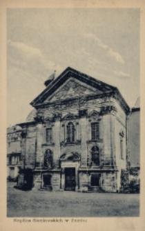Brzeżany. Kaplica zamkowa Sieniawskich, przed 1916 r.