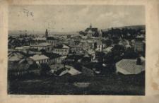 Brzeżany. Widok ogólny, 1927 r.