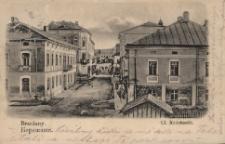 Brzeżany. Ulica Kościuszki, 1904 r.