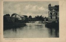 Brzeżany. Młyn na stawie, 1916 r.
