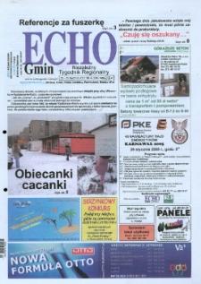 Echo Gmin : niezależny tygodnik regionalny 2005, nr 4 (384).
