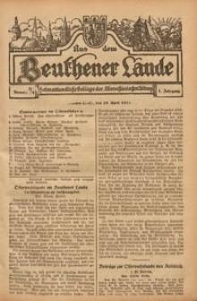 Aus dem Beuthener Lande, 1924, Jg. 1, Nr. 13/14
