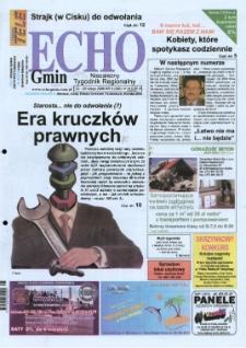 Echo Gmin : niezależny tygodnik regionalny 2005, nr 8 (388).