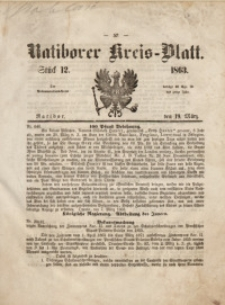 Ratiborer Kreis-Blatt, 1863, Stück12