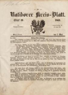 Ratiborer Kreis-Blatt, 1863, Stück19