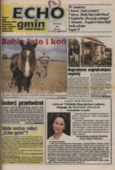Echo Gmin : tygodnik regionalny : Bierawa, Cisek, Kędzierzyn-Koźle, Pawłowiczki, Polska Cerekiew, Reńska Wieś, Zdzieszowice 1997, nr 3.