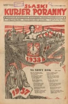 Śląski Kurjer Poranny, 1938, R. 4, Nr. 1