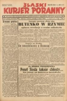 Śląski Kurjer Poranny, 1938, R. 4, Nr. 47