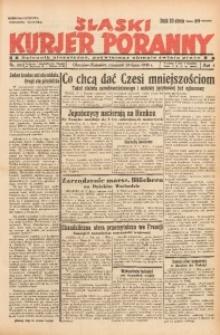 Śląski Kurjer Poranny, 1938, R. 4, Nr. 205