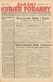 Śląski Kurjer Poranny, 1938, R. 4, Nr. 252