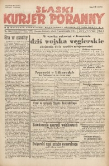 Śląski Kurjer Poranny, 1938, R. 4, Nr. 279