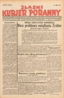 Śląski Kurjer Poranny, 1938, R. 4, Nr. 321