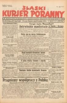 Śląski Kurjer Poranny, 1938, R. 4, Nr. 335