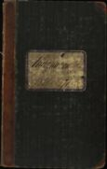 Księga zmarłych Parafii Ewangelicko-Augsburskiej w Cieszynie, T. 2, 1851 - 1871, sygn. 1076