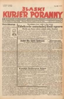 Śląski Kurjer Poranny, 1939, R. 5, Nr. 25