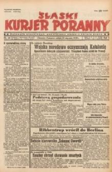 Śląski Kurjer Poranny, 1939, R. 5, Nr. 28