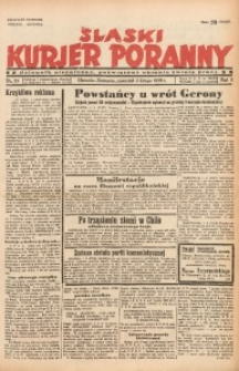 Śląski Kurjer Poranny, 1939, R. 5, Nr. 33