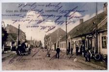 Branice. Główna ulica przed 1945 r.