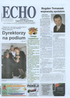 Echo Gmin : niezależny tygodnik regionalny 2005, nr 50 (430).