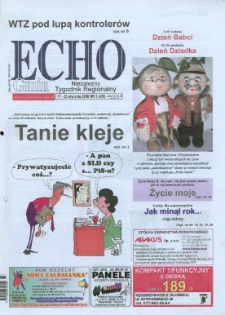 Echo Gmin : niezależny tygodnik regionalny 2006, nr 3 (435).