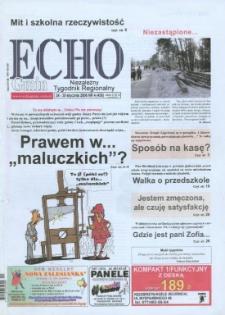 Echo Gmin : niezależny tygodnik regionalny 2006, nr 4 (436).