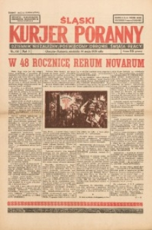Śląski Kurjer Poranny, 1939, R. 5, Nr. 132