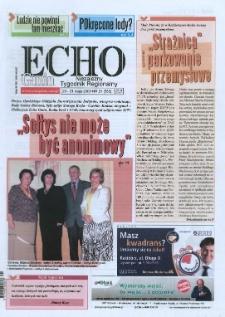Echo Gmin : niezależny tygodnik regionalny 2008, nr 21 (553).