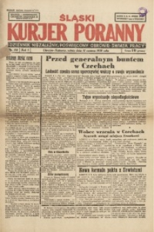 Śląski Kurjer Poranny, 1939, R. 5, Nr. 158