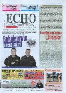 Echo Gmin : niezależny tygodnik regionalny 2008, nr 22 (554).