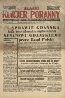 Śląski Kurjer Poranny, 1939, R. 5, Nr. 187