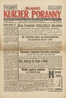 Śląski Kurjer Poranny, 1939, R. 5, Nr. 197