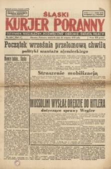 Śląski Kurjer Poranny, 1939, R. 5, Nr. 229