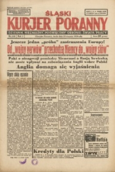 Śląski Kurjer Poranny, 1939, R. 5, Nr. 232