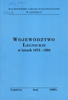 Województwo legnickie w latach 1975 - 1994