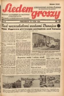 Siedem Groszy, 1934, R. 3, nr 199. - Wyd. DEGC