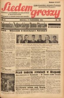 Siedem Groszy, 1934, R. 3, nr 289. - Wyd. DEGCF