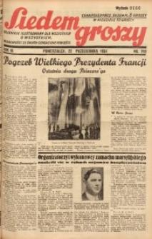 Siedem Groszy, 1934, R. 3, nr 290. - Wyd. DEGC