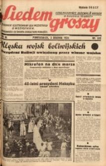Siedem Groszy, 1934, R. 3, nr 332. - Wyd. DEGCF