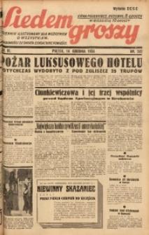 Siedem Groszy, 1934, R. 3, nr 342. - Wyd. DEGC