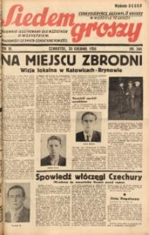 Siedem Groszy, 1934, R. 3, nr 348. - Wyd. DEGCF
