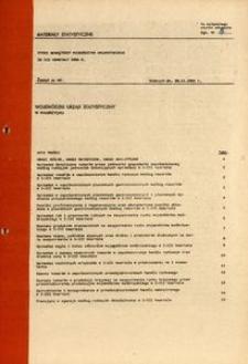 Rynek wewnętrzny województwa wałbrzyskiego za III kwartały 1984 r.