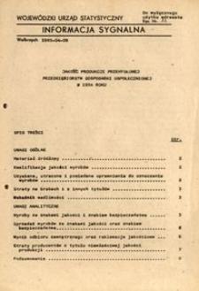 Jakość produkcji przemysłowej przedsiębiorstw gospodarki uspołecznionej w 1984 roku
